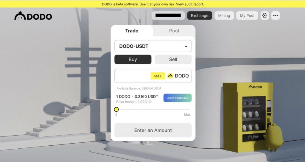 Dodo Exchange Review DodoEx