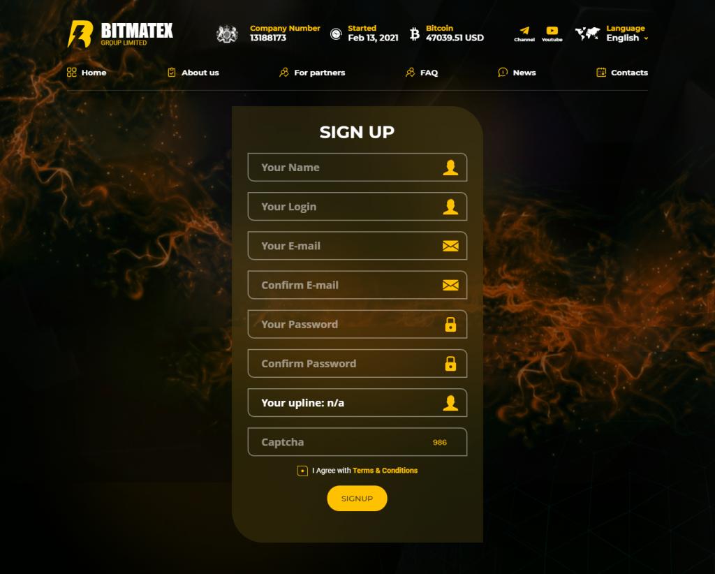 Bitmatex Review Is Bitmatex Legit Bitmatex.io Bitmatex Investment