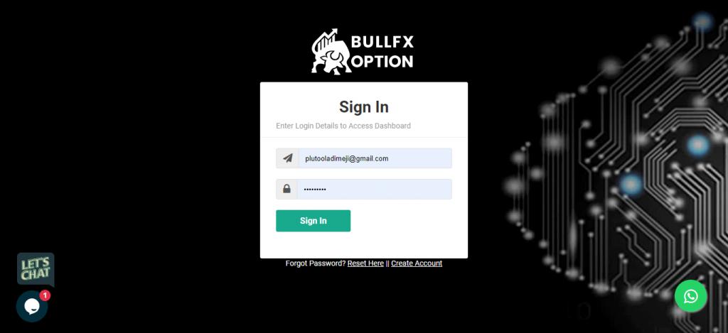 bullfxoption review is bullfxoption legit bull fx option