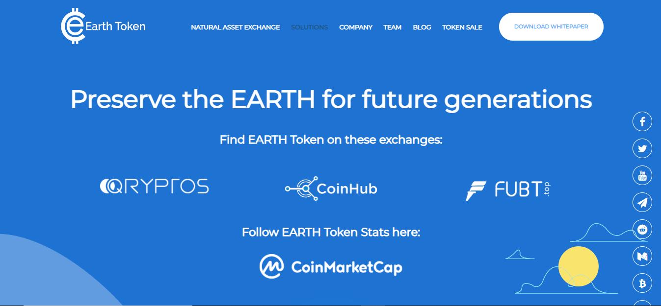 Earth Token Review - Is Earth Token Legit? - Earth Token Price